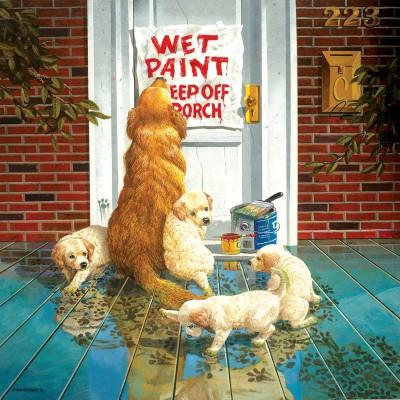 Puzzle  Sunsout-36028 XXL Teile - Wet Paint