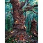 Puzzle  Sunsout-36510 XXL Teile - Jeff Tift - Forest Gnomes