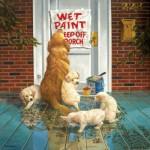Puzzle  Sunsout-36715 Don Crook - Wet Paint
