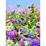 Puzzle  Sunsout-37219 Garden Flight