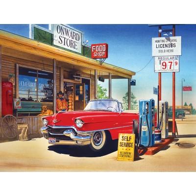 Puzzle Sunsout-37460 XXL Teile - Onward Store Gas Station