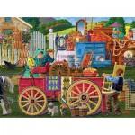 Puzzle  Sunsout-38640 Joseph Burgess - Vintage Yard Sale