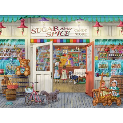 Puzzle  Sunsout-38653 XXL Teile - Sugar and Spice