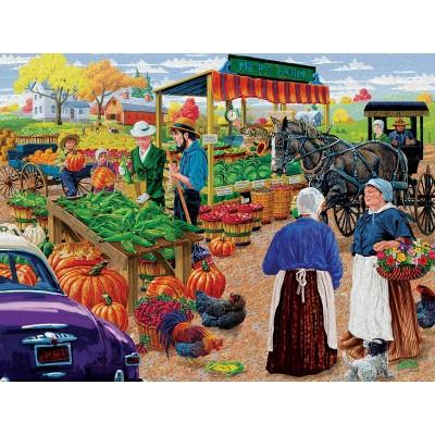 Puzzle  Sunsout-38830 XXL Teile - Mr. P's Farm Market