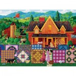 Puzzle  Sunsout-38842 XXL Teile - Morning Day Quilt