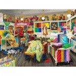 Puzzle  Sunsout-38879 XXL Teile - Sewing Store Companions