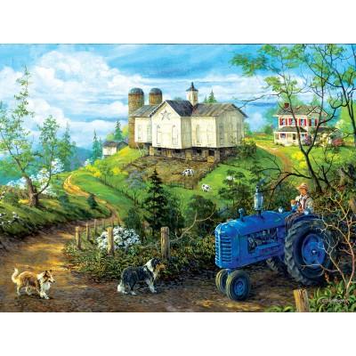 Puzzle  Sunsout-38887 XXL Teile - Green Pastures