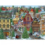 Puzzle  Sunsout-38937 XXL Teile - Winter Village Square