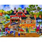 Puzzle  Sunsout-38971 XXL Teile - Joseph Burgess - Jerrigan Bros General Store