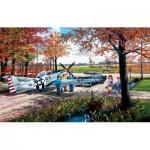 Puzzle  Sunsout-39336 Ken Zylla - Emergency Landing