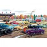 Puzzle  Sunsout-39361 XXL Teile - Ken Zylla - Demolition Derby