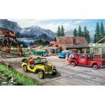 Puzzle  Sunsout-39364 Ken Zylla - Alaskan Road Trip