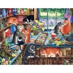 Puzzle  Sunsout-39423 XXL Teile - Irina Garmashova-Cawton - In a Garden Shed