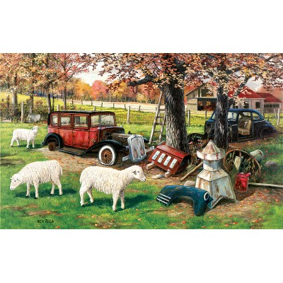 Puzzle  Sunsout-39471 XXL Teile - Out to Pasture