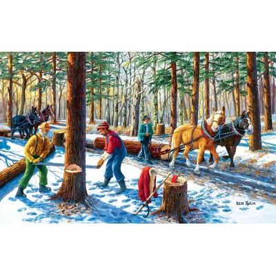Puzzle  Sunsout-39545 XXL Teile - Lumber Jacks
