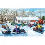 Puzzle  Sunsout-39554 XXL Teile - Red Lake Rendevous