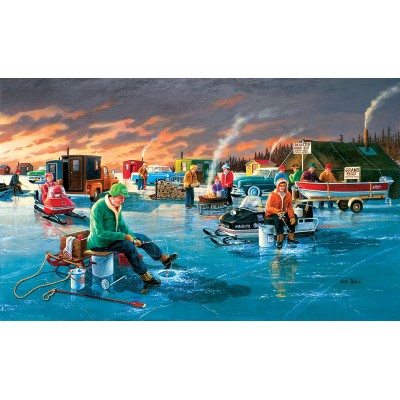 Puzzle  Sunsout-39560 Ken Zylla - Fishing Contest