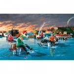 Puzzle  Sunsout-39565 XXL Teile - Fishing Contest