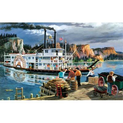 Puzzle  Sunsout-39576 Riverboat