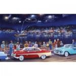 Puzzle  Sunsout-39586 Ken Zylla - Grand Finale