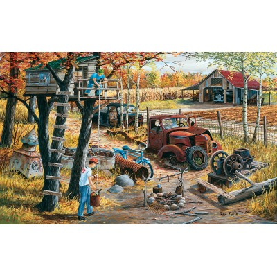 Puzzle  Sunsout-39601 XXL Teile - Base Camp