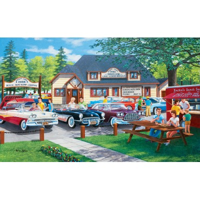 Puzzle  Sunsout-39617 XXL Teile - Life in the Past Lane
