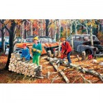 Puzzle  Sunsout-39662 XXL Teile - Fall Chores
