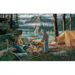Puzzle  Sunsout-39697 Ken Zylla - Alaska Adventure
