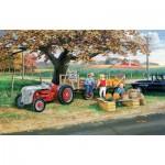 Puzzle  Sunsout-39774 Ken Zylla - Harvest Time