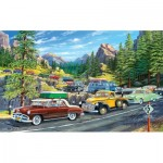 Puzzle  Sunsout-39778 XXL Teile - Holiday Traffic