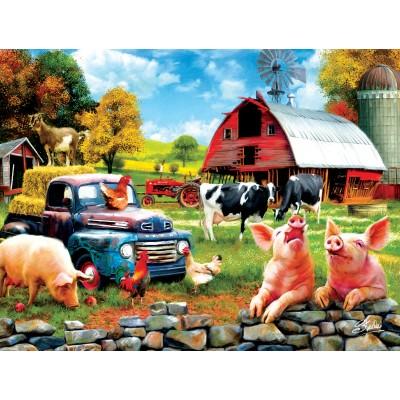 Puzzle Sunsout-42063 Sharon Steele - Farm Days