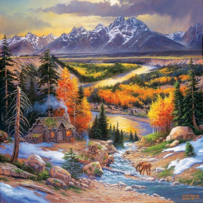 Puzzle  Sunsout-44336 XXL Teile - Fall Retreat