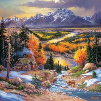Puzzle Sunsout-44336 XXL Teile - Fall Retreat