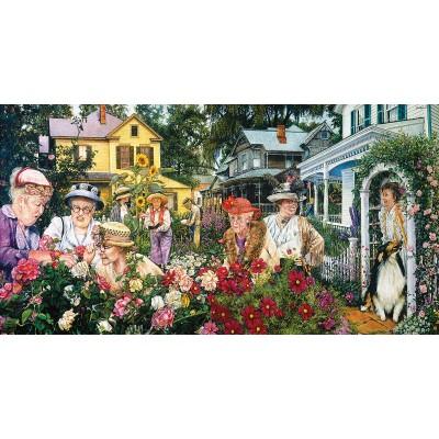 Puzzle  Sunsout-44391 XXL Teile - Garden Club Ladies