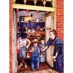 Puzzle  Sunsout-44655 Susan Brabeau - Her Little Rascals