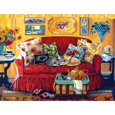 Puzzle  Sunsout-45414 XXL Teile - Tea Time