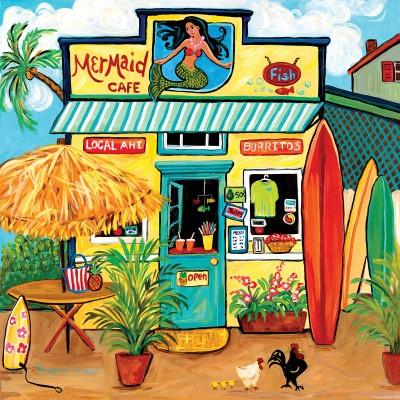 Puzzle  Sunsout-47170 XXL Teile - Mermaid Cafe