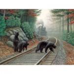 Puzzle  Sunsout-48804 XXL Teile - Bear Tracks