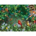 Puzzle  Sunsout-49054 Jerry Gadamus - Bird Festival