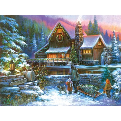 Puzzle  Sunsout-49060 XXL Teile - A Family Tradition