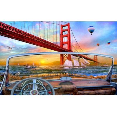 Puzzle  Sunsout-50069 Dominic Davison - Golden Gate Adventure