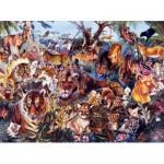 Puzzle  Sunsout-50078 XXL Teile - Animal Fantasia