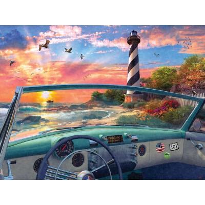 Puzzle  Sunsout-50080 Dominic Davison - Cape Hatteras Drive