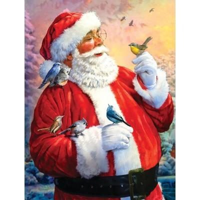 Puzzle  Sunsout-50734 XXL Teile - Santa's Morning Meeting