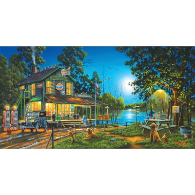 Puzzle  Sunsout-51310 Geno Peoples - Dixie Hollow General Store