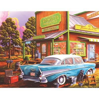 Puzzle  Sunsout-51327 XXL Teile - Geno Peoples - Aunt Sheila's Cafe