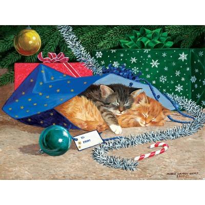 Puzzle  Sunsout-51507 XXL Teile - Nap Sack Cat