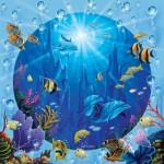 Puzzle  Sunsout-52345 XXL Teile - Dolphin Castle