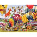 Puzzle  Sunsout-52448 XXL Teile - Balloon Landing