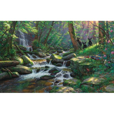 Puzzle  Sunsout-52933 Mark Keathley - Summer Delights
